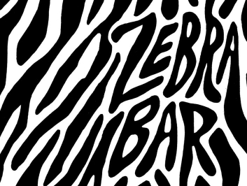 Zebra Bar Menu